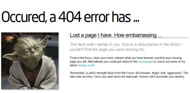 error 404, naranča blog