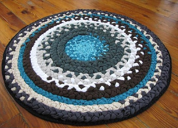 ručno rađeni tepih, naranča blog