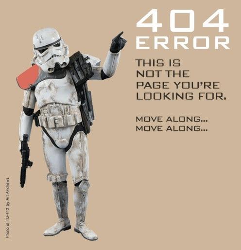 erorr 404, naranča blog