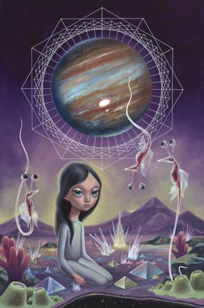 naranča blog, Callisto, Ana Bagayan, ilustracija, futurealizam, izvanzemaljci, svemir, postojanje, dimenzije, astronomija, sveta geometrija, oči, metafizika, realnost, iluzija, simboli, mitovi, treće oko
