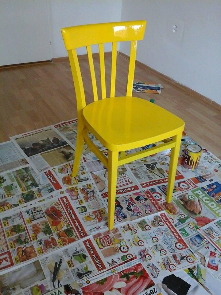 naranča, naranča blog, preuređenje starog namještaja, žuta, tirkizna, žuti namještaj, tirkizni namještaj, uređenje doma, uređenje interijera, dizajn interijera