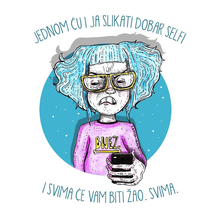 Zombijana Bones, Andrijana Vešović, ilustracija, crteži, naranča, naranča blog