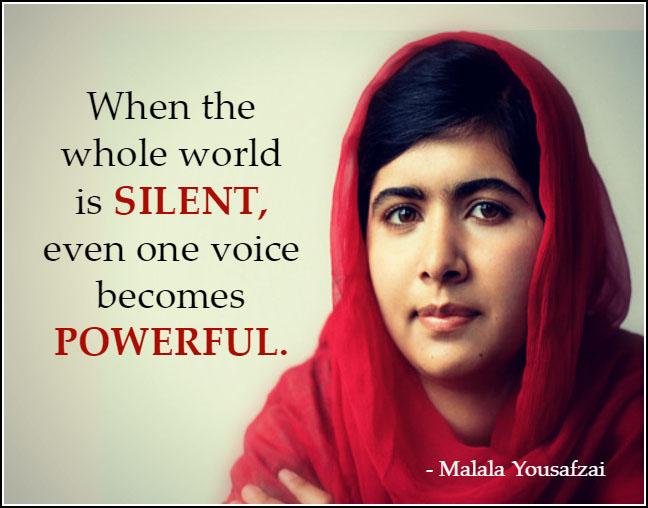 naranča, naranča blog, Malala, žene, prava žena, obrazovanje